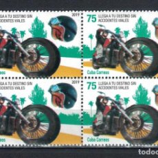 Sellos: 647KB CUBA 2019 MNH RADD SAFETY CAMPAIGN. Lote 226335510