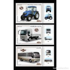 Sellos: 🚩 KOREA 2018 VEHICLES MNH - TRANSPORT, BUS. Lote 243281095