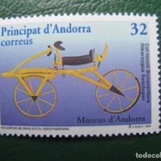 Sellos: ANDORRA, 1997, VELOCÍPEDO, EDIFIL 256. Lote 244901755