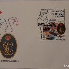 Sellos: MATASELLOS PRIMER DÍA. ESPAÑA 1994. SERVICIOS PÚBLICOS: METRO Y GUARDIA CIVIL. Lote 246186855