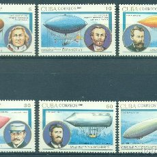 "Sellos: ⚡ DISCOUNT CUBA 1991 AIRSHIPS - IBERIA-LATIN AMERICA STAMP EXHIBITION ""ESPAMER '91"" - BUENOS A. Lote 253839465"