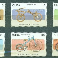 Sellos: ⚡ DISCOUNT CUBA 1992 BICYCLES MNH - BICYCLES. Lote 253839745