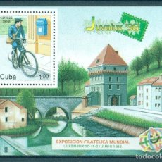 Sellos: ⚡ DISCOUNT CUBA 1998 INTERNATIONAL YOUTH STAMP EXHIBITION JUVALEX 98 - LUXEMBOURG MNH - ARCH. Lote 253840865