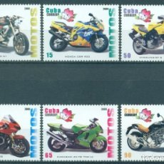 Sellos: ⚡ DISCOUNT CUBA 2009 INTERNATIONAL STAMP EXHIBITION - CHINA 2009 MNH - MOTORCYCLES. Lote 253842785