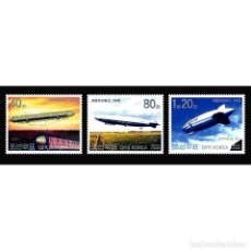 Sellos: ⚡ DISCOUNT KOREA 2002 CENTENARY OF ZEPPELIN FLIGHT MNH - AIRSHIPS. Lote 253854005