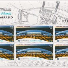 Sellos: ⚡ DISCOUNT URUGUAY 2015 CARRASCO INTERNATIONAL AIRPORT MNH - AVIATION, AIRPORTS. Lote 260558415
