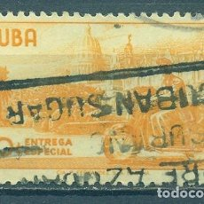 Sellos: ⚡ DISCOUNT CUBA 1961 COURIER WITH MOTORCYCLE U - MOTORCYCLES, POST OFFICE, POST SERVICES. Lote 260566355