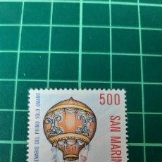 Sellos: 1983 SAN MARINO SERIE COMPLETA NUEVA YVERT 1080 GLOBO TRASPARENTES FILATELIA COLISEVM. Lote 262046745