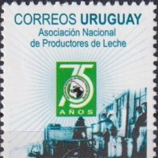 Sellos: ⚡ DISCOUNT URUGUAY 2008 THE 75TH ANNIVERSARY OF THE NATIONAL ASSOCIATION OF MILK PRODUCERS MN. Lote 262871350