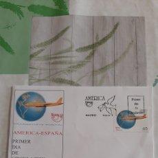 Sellos: 1994 ESPAÑA EDIFIL 3321 SFC 875 MATASELLO UPAEP TRASPORTE POSTAL AVIÓN DC 8. Lote 263066350