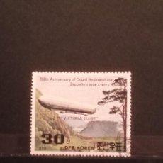 Timbres: SELLOS TEMÁTICOS - KOREA - GLOBOS -SM. Lote 275797108