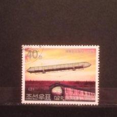 Timbres: SELLOS TEMÁTICOS - KOREA - GLOBOS -SM. Lote 275797133