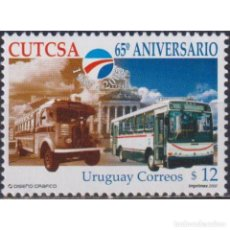 Sellos: UY2681 URUGUAY 2002 MNH THE 65TH ANNIVERSARY OF CUTSA. Lote 287532833