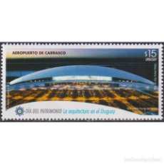 Sellos: UY3445 URUGUAY 2015 MNH CARRASCO INTERNATIONAL AIRPORT. Lote 287533278