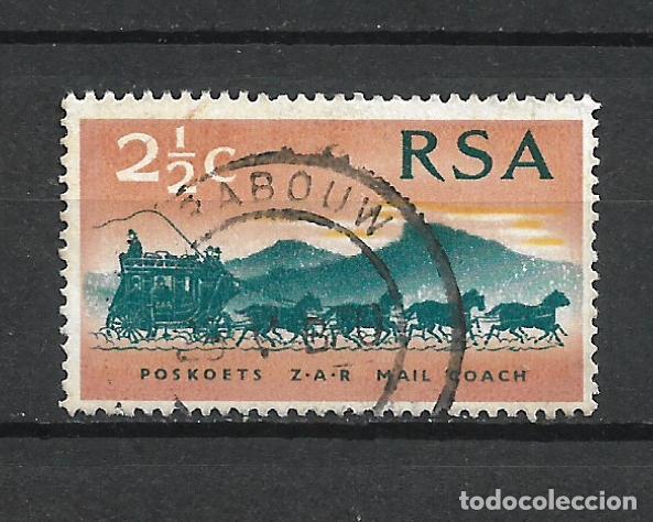 SELLO SUDAFRICA CARRUAJES - 19/42 (Sellos - Temáticas - Otros Transportes)