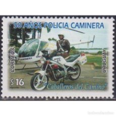 Sellos: UY2831 URUGUAY 2004 MNH THE 50TH ANNIVERSARY OF THE TRAFFIC POLICE. Lote 293409768