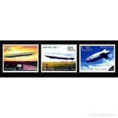 Sellos: ⚡ DISCOUNT KOREA 2002 CENTENARY OF ZEPPELIN FLIGHT MNH - AIRSHIPS. Lote 296058923