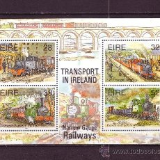 Sellos: IRLANDA HB 18*** - AÑO 1995 - EL TRANSPORTE EN IRLANDA - FERROCARRILES DE VIA ESTRECHA. Lote 24627770