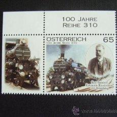 Sellos: AUSTRIA AÑO 2011. 150 ANIVERSARIO KARL GOLSDORF. Lote 118111079