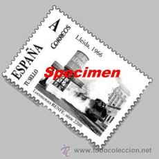 Sellos: SELLO CONMEMORATIVO EXPOTREN LLEIDA 2012 - 17/03/2012 . Lote 30678810