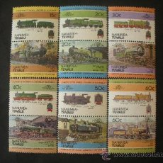 Sellos: TUVALU - NANUMEA 1984 IVERT 1 *** LOCOMOTORAS ANTIGUAS (I) - TRENES. Lote 32133497
