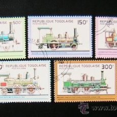 Sellos: REPUBLICA DE TOGO 1996 LOTE DE SELLOS - LOCOMOTORA- TRENES - TRANVIA- TRAINS- TREN- FERROCARRIL . Lote 39166622