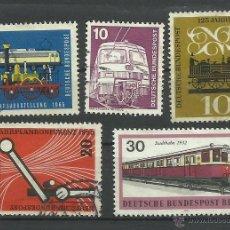 Sellos: ALEMANIA LOTE DE SELLOS TRENES- LOCOMOTORAS- TREN- TRAINS- RAILWAYS- FERROCARRIL. Lote 43660560