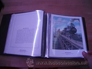 Sellos: LEGENDARY LOCOMOTIVES OF THE 50 STATES FINE ART PRINTS 1994 TREN FERROCARRIL locomotora (Ver Video) - Foto 13 - 44960991