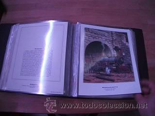Sellos: LEGENDARY LOCOMOTIVES OF THE 50 STATES FINE ART PRINTS 1994 TREN FERROCARRIL locomotora (Ver Video) - Foto 16 - 44960991
