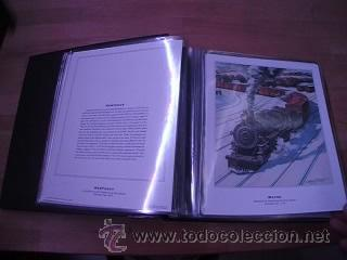 Sellos: LEGENDARY LOCOMOTIVES OF THE 50 STATES FINE ART PRINTS 1994 TREN FERROCARRIL locomotora (Ver Video) - Foto 17 - 44960991
