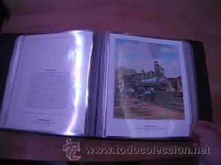 Sellos: LEGENDARY LOCOMOTIVES OF THE 50 STATES FINE ART PRINTS 1994 TREN FERROCARRIL locomotora (Ver Video) - Foto 18 - 44960991