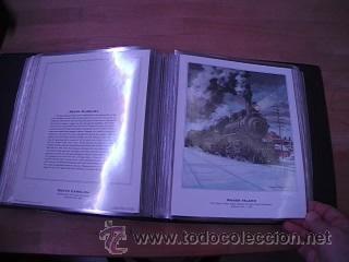 Sellos: LEGENDARY LOCOMOTIVES OF THE 50 STATES FINE ART PRINTS 1994 TREN FERROCARRIL locomotora (Ver Video) - Foto 20 - 44960991