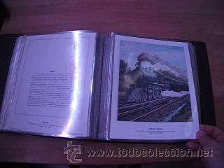 Sellos: LEGENDARY LOCOMOTIVES OF THE 50 STATES FINE ART PRINTS 1994 TREN FERROCARRIL locomotora (Ver Video) - Foto 22 - 44960991