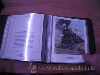 Sellos: LEGENDARY LOCOMOTIVES OF THE 50 STATES FINE ART PRINTS 1994 TREN FERROCARRIL locomotora (Ver Video) - Foto 23 - 44960991