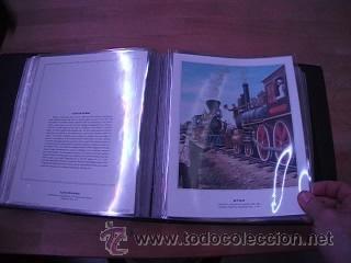 Sellos: LEGENDARY LOCOMOTIVES OF THE 50 STATES FINE ART PRINTS 1994 TREN FERROCARRIL locomotora (Ver Video) - Foto 24 - 44960991