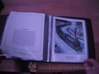 Sellos: LEGENDARY LOCOMOTIVES OF THE 50 STATES FINE ART PRINTS 1994 TREN FERROCARRIL locomotora (Ver Video) - Foto 26 - 44960991