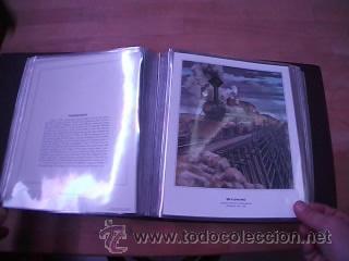 Sellos: LEGENDARY LOCOMOTIVES OF THE 50 STATES FINE ART PRINTS 1994 TREN FERROCARRIL locomotora (Ver Video) - Foto 28 - 44960991