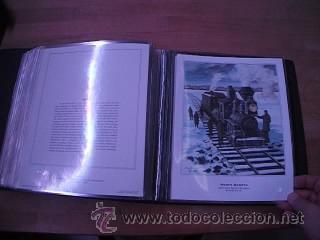 Sellos: LEGENDARY LOCOMOTIVES OF THE 50 STATES FINE ART PRINTS 1994 TREN FERROCARRIL locomotora (Ver Video) - Foto 29 - 44960991