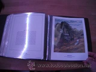 Sellos: LEGENDARY LOCOMOTIVES OF THE 50 STATES FINE ART PRINTS 1994 TREN FERROCARRIL locomotora (Ver Video) - Foto 30 - 44960991