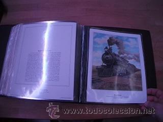 Sellos: LEGENDARY LOCOMOTIVES OF THE 50 STATES FINE ART PRINTS 1994 TREN FERROCARRIL locomotora (Ver Video) - Foto 31 - 44960991
