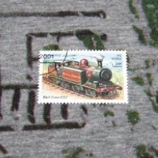 Sellos: SELLOS DE LOCOMOTORAS - BIRCH GROVE 0-3-2 - AFGHAN POST 2001. Lote 50416250