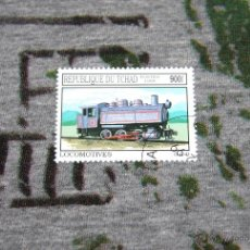 Sellos: SELLOS DE LOCOMOTORAS - LOCOMOTIVES - REPUBLIQUE DU TCHAD - POSTES 1999. Lote 50416257
