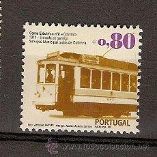 Sellos: PORTUGAL ** & CARRO ELÉCTRICO, SERVIÇOS MUNICIPAIS DE COIMBRA 2010. Lote 266607758