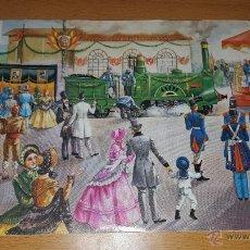 Sellos: FABRICA NACIONAL DE MONEDA Y TIMBRE 125 ANIVERSARIO DEL FERROCARRIL BARCELONA-MATARO 1974. Lote 53157877