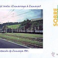 Sellos: FERROCARRIL DEL UROLA (ZUMARRAGA Á ZUMAYA), ESTACIÓN DE ZUMAYA 1981.. Lote 53435604