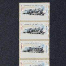 Sellos: ESPANA.ATMS AÑO 2001/ETIQUETA POSTAL LOCOMOTORA.. Lote 55397112