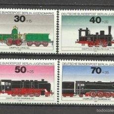 Sellos: SELLO ALEMANIA 1975 TEMÁTICA TRENES - LOCOMOTORAS DE VAPOR. Lote 58614663