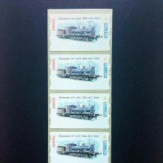 Sellos: ESPAÑA.ATMS AÑO 2001.ETIQUETA POSTAL LOCOMOTORA.. Lote 55398021