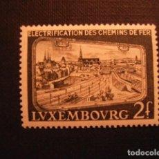Sellos: LUXEMBURGO Nº YVERT 517*** AÑO 1956. ELECTRIFICACION DE LOS FERROCARRILES. Lote 95165407