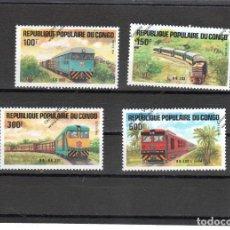 Sellos: CONGO Nº 726 AL 729(**). Lote 95587663